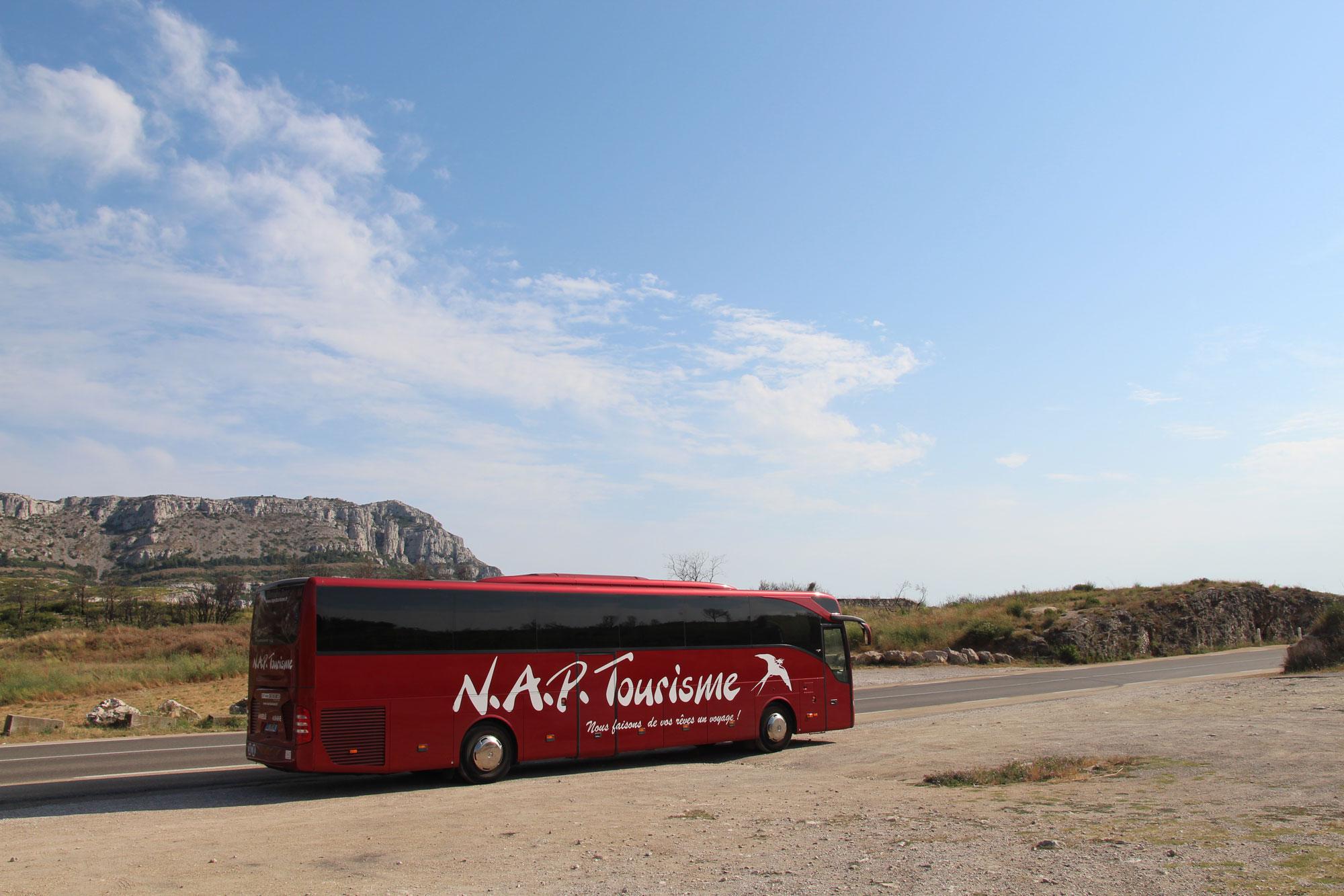 Location autocar chauffeur Marseille